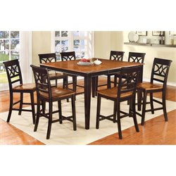 Maxey 9 Piece Extendable Counter Dining Set