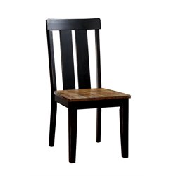 Furniture of America Venture Dining Chair in Antique Oak (Set of 2)