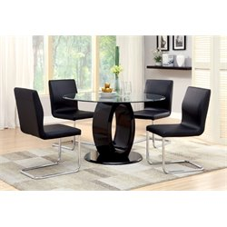 Hugo 5 Piece Round Dining Set