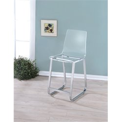 Jones II Acrylic Bar Stool