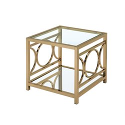 Beller Square End Table