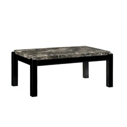 Explenich Marble Top Coffee Table