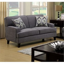 Elde Fabric Loveseat