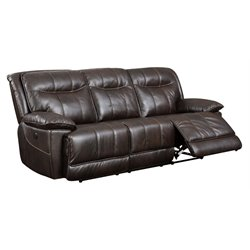 Schaffer Leather Power Reclining Sofa