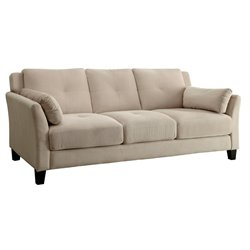 Trevon Tufted Fabric Sofa