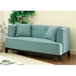 Waylin Tufted Fabric Loveseat