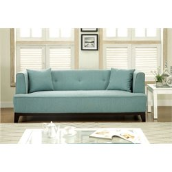 Waylin Tufted Fabric Sofa