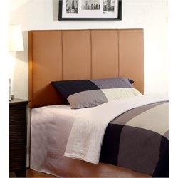 Ramone Panel Leather Headboard