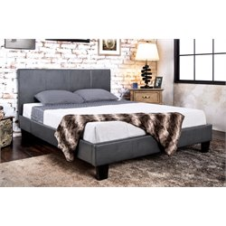 Ramone Upholstered Panel Bed 1