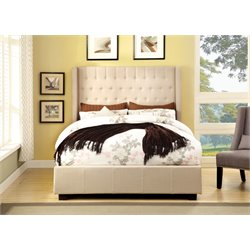 Elm Upholstered Platform Bed 3