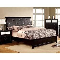 Lillianne Tufted Platform Bed