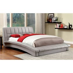 Nimara Upholstered Platform Bed