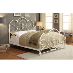 Stella Metal Platform Bed 1