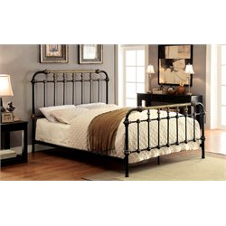 Cecil Metal Spindle Bed