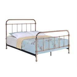 Gracie Metal Platform Slat Bed