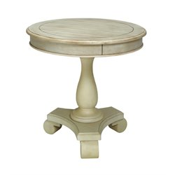 Jackson Round Pedestal End Table