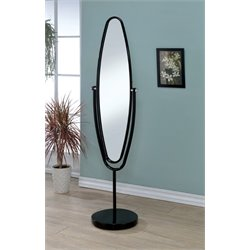 Clarice Metal Oval Swivel Mirror