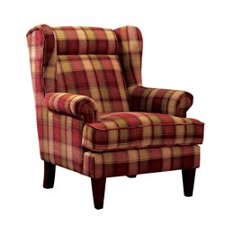 Henry's Wingback Accent Chair