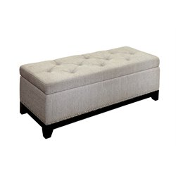 Darcy Tufted Storage Bench