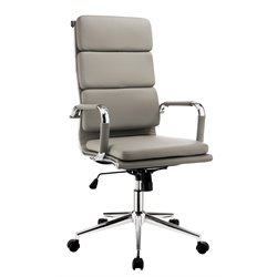 Powers Adjustable Faux Leather Office Chair 1