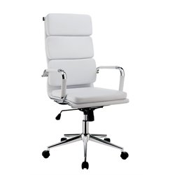 Powers Adjustable Faux Leather Office Chair 2