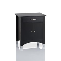 Furniture of America Collins End Table in Black