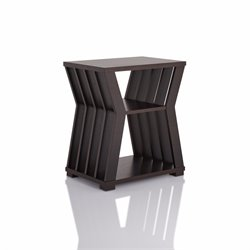 Furniture of America Vella End Table in Cappuccino
