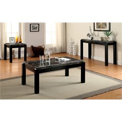 Explenich Coffee Table Set in Gray