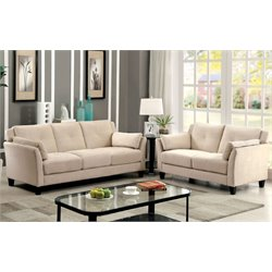 Haworth Sofa Set in Beige