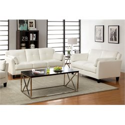 Harrelson Sofa Set in White