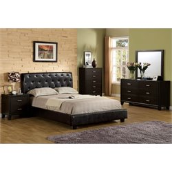 Naylor 4 Piece Bedroom Set in Espresso