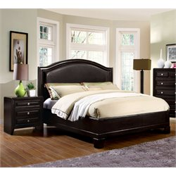 Basonne 2 Piece Bedroom Set in Espresso