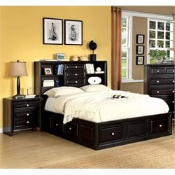 Kaso 2 Piece Bedroom Set in Espresso