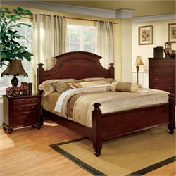 Dryton 2 Piece Bedroom Set in Cherry