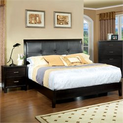 Muscett 2 Piece Bedroom Set in Espresso