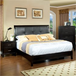 Muscett 3 Piece Bedroom Set in Espresso
