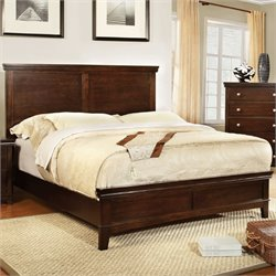 Fanquite Bed in Brown Cherry