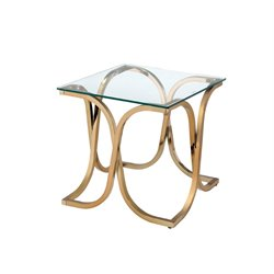 Sarif Square End Table