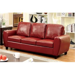 Parvi Leather Sofa