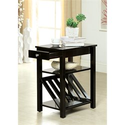 Stockton Magazine Rack End Table