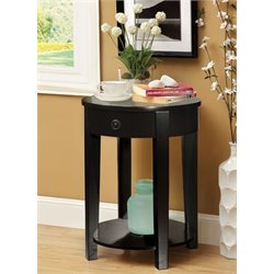 Harman Round 1 Drawer End Table