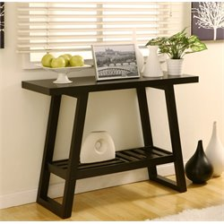 Furniture of America Arreguin Console Table in Cappuccino