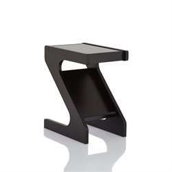 Furniture of America Dollof Magazine Rack End Table in Cappuccino