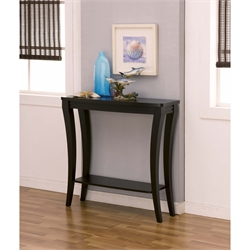Furniture of America Valvo Console Table in Cappuccino
