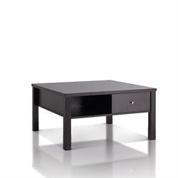 Furniture of America Babichen Square Coffee Table in Cappuccino