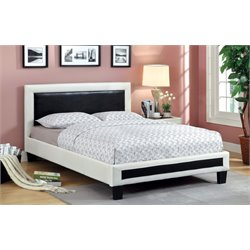 Retticker Leather Bed
