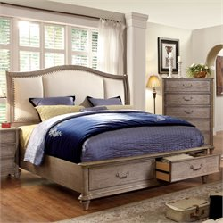 Bartrand Storage Upholstered Bed