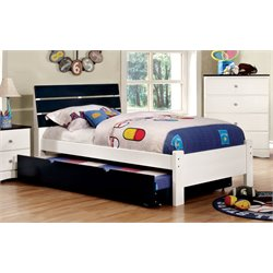 Emely Platform Bed with Trundle