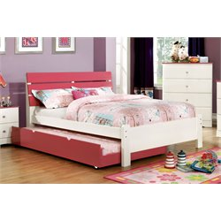 Emely Platform Bed with Trundle 1