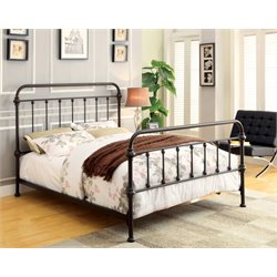 Celinda Metal Spindle Bed